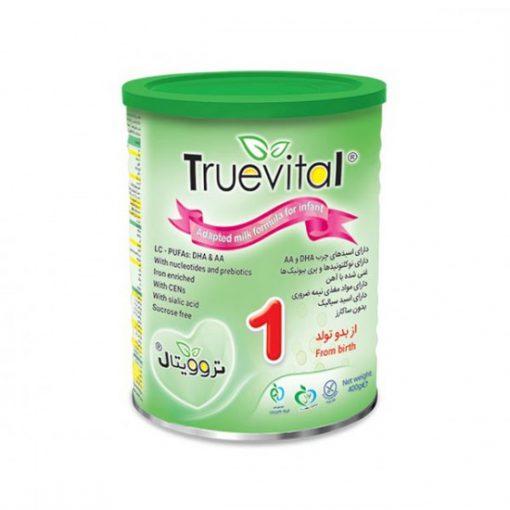 شیر خشک 1 نیکسان حاوی پره بیوتیک وزن 400 گرم سری تروویتال