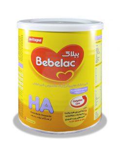 شیر خشک میلوپا حاوی پره بیوتیک و مواد معدنی وزن 400 گرمی سری ببلاک اچ آ: