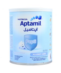 شیر خشک نوتریشیا حاوی پروتئین وزن400 گرمی سری آپتامیل پپتی
