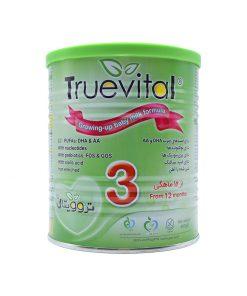 شیر خشک3 نیکسان حاوی پره بیوتیک وزن 400 گرم سری تروویتال