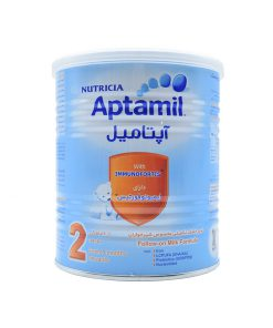 شیرخشک 2 نوتریشیا حاوی آهن و روی 400 گرمی سری آپتامیل 2
