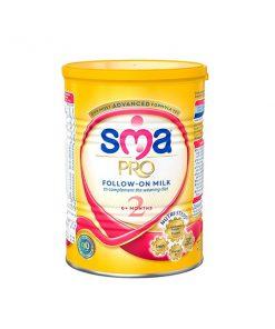 شیرخشک 2 نستله پروداکتس حاوی کولین و لوتئین وزن 400 گرم سری اس ام ای