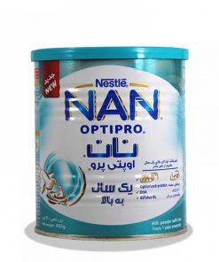 شیر خشک 3نستله حاوی آهن وزن 400 گرمی سری نان