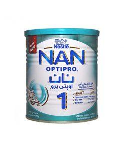 شیر خشک 1 نستله حاوی امگا 3و6 وزن 400 گرمی سری نان