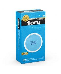 کاندوم ساده فیستا مدل کلاسیک بسته 12 عددی