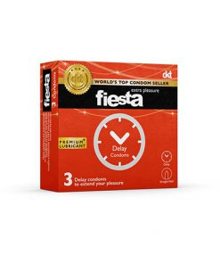 کاندوم انرژی تاخیری فیستا مدل Delayبسته 3 عددی