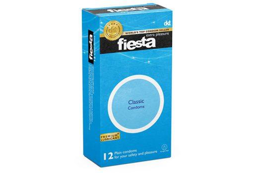 کاندوم فیستا Fiesta مدل ساده بسته 12 عددی