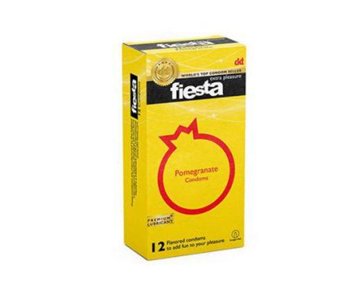 کاندوم تنگ کننده واژن فیستا Fiesta مدل انار بسته 12 عددی