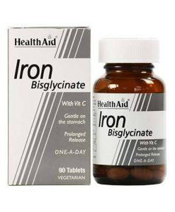 قرص مکمل آهن و ویتامین ث هلث اید 90 عددی