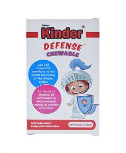 قرص جویدنی کیندر Kinder تقویت سیستم ایمنی بدن حاوی 60 عدد قرص