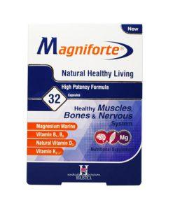 کپسول مکمل مگنیفورت magniforte هولیستیکا حاوی 32 عدد کپسول