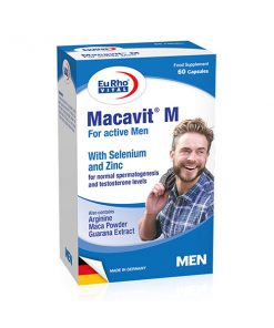 کپسول مکمل ماکاویت ام آقایان یوروویتال 60 عددی