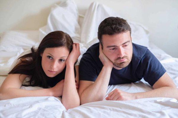چگونه به شریک زندگی خود نشان دهیم که آماده برقراری رابطه جنسی نیستیم؟