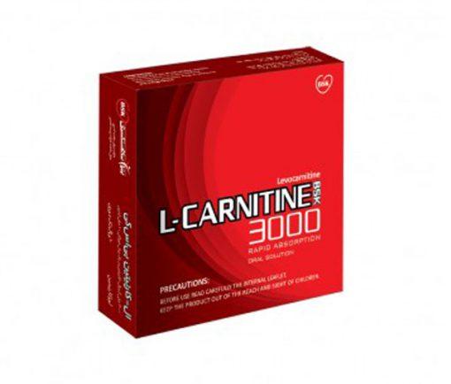 ویال مکمل ال-کارنیتین L-Carnitine 3000 بی اس کی