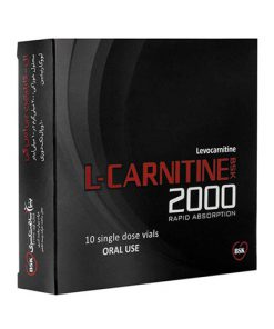 ویال مکمل ال-کارنیتین 2000 بی اس کی 10 عددی