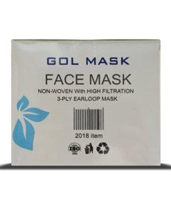 ماسک سه لایه ی گل ماسک در بسته بندی 50 عددی
