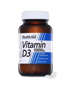 قرص ویتامین D3 هلث اید با دوز 1000 حاوی 30 عدد