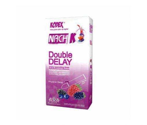 کاندوم تاخیری دوبل ناچ کدکس در بسته بندی 10 عددی
