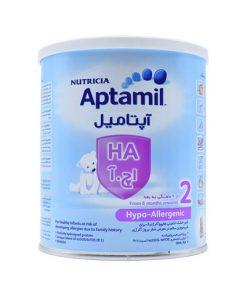 شیر خشک آپتامیل اچ آ 2 مناسب برای نوزادان مبتلا به آلرژی وزن 400 گرم