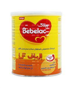 شیرخشک ببلاک ال اف بدون لاکتوز مخصوص شیرخواران حجم 400 گرم
