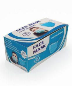 ماسک سه لایه ی پزشکی در بسته بندی 50 عددی (کد23)