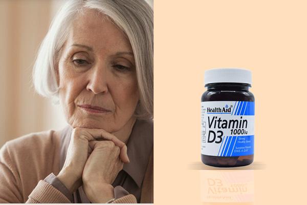 علائم کمبود ویتامین D در سالمندان