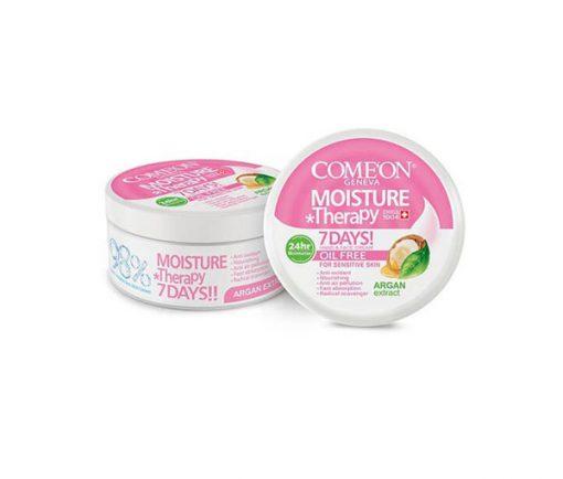 کرم مرطوب کننده کامان COMEON مخصوص پوست چرب و حساس حجم 240 میل