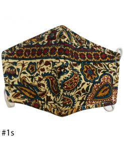 ماسک پارچه ای طرح سنتی (دو مدل)