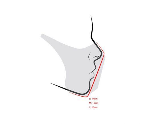 ماسک فیلتردار سایدا سری فشن طرح رزینی (چهار مدل)