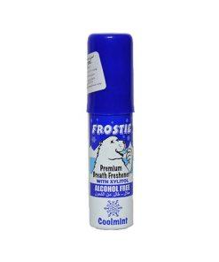 اسپری خوشبوکننده دهان فروستی FROSTIE با عصاره نعناع یخ حجم 20 میل