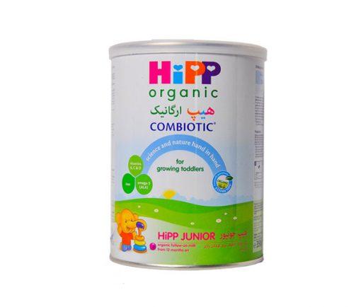 شیر خشک ارگانیک هیپ جونیور وزن 350 گرم