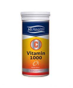 قرص جوشان ویتامین C1000 های هلث 10 عددی