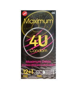 کاندوم خاردار و تاخیری 4U مدل Maximum