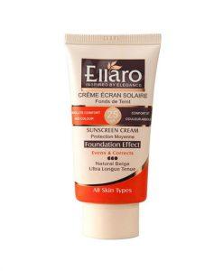 کرم ضد آفتاب رنگی الارو مناسب برای انواع پوست SPF 25