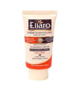 کرم ضد آفتاب رنگی الارو مناسب برای پوست های چرب و حساس SPF 30