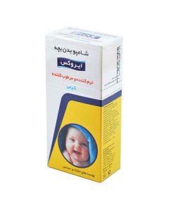 شامپو بدن کرمی بچه ایروکس مناسب پوست های خشک و حساس