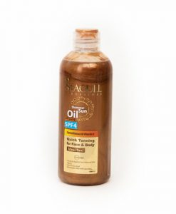 روغن برنزه کننده اکلیلی و ویتامینه سی گل مناسب انواع پوست